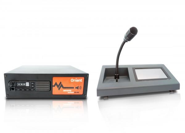 TX-08 Dokunmatik Ekranlı Ses Yayın Konsolu